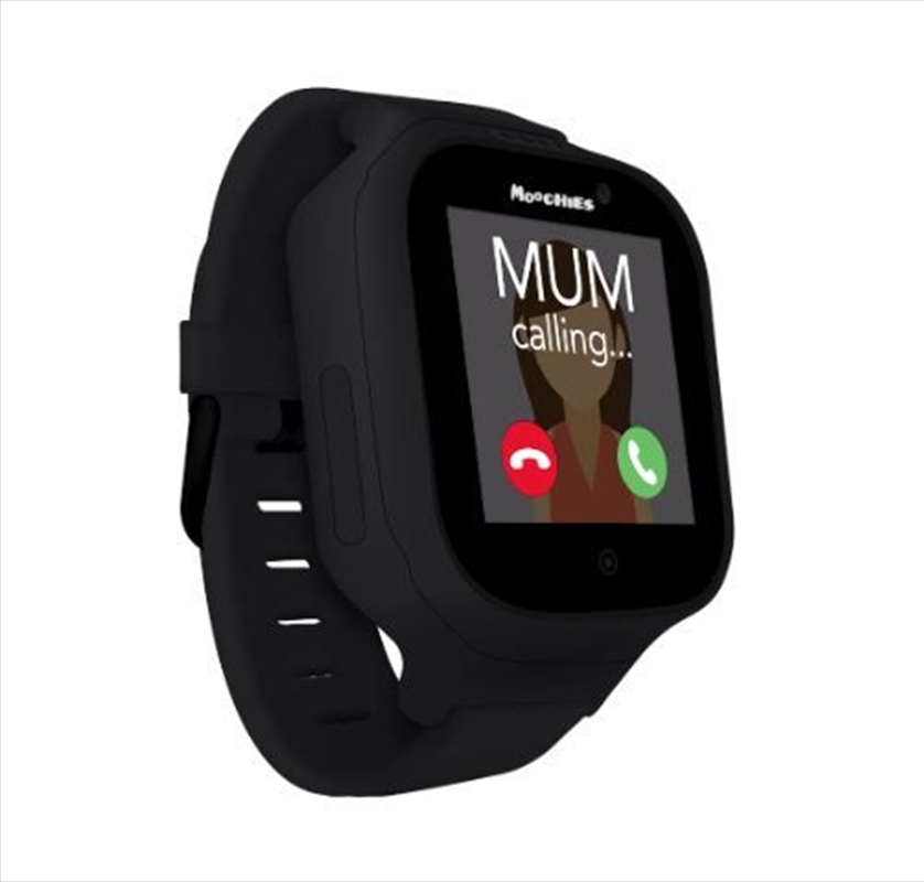 Moochies Kids Smartwatch - Black | Merchandise