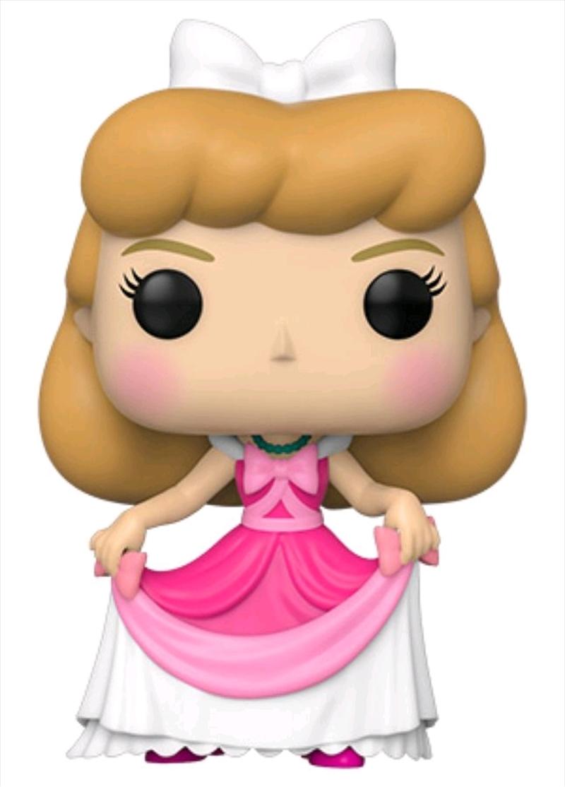Cinderella - Cinderella Pink Dress Pop! Vinyl | Pop Vinyl