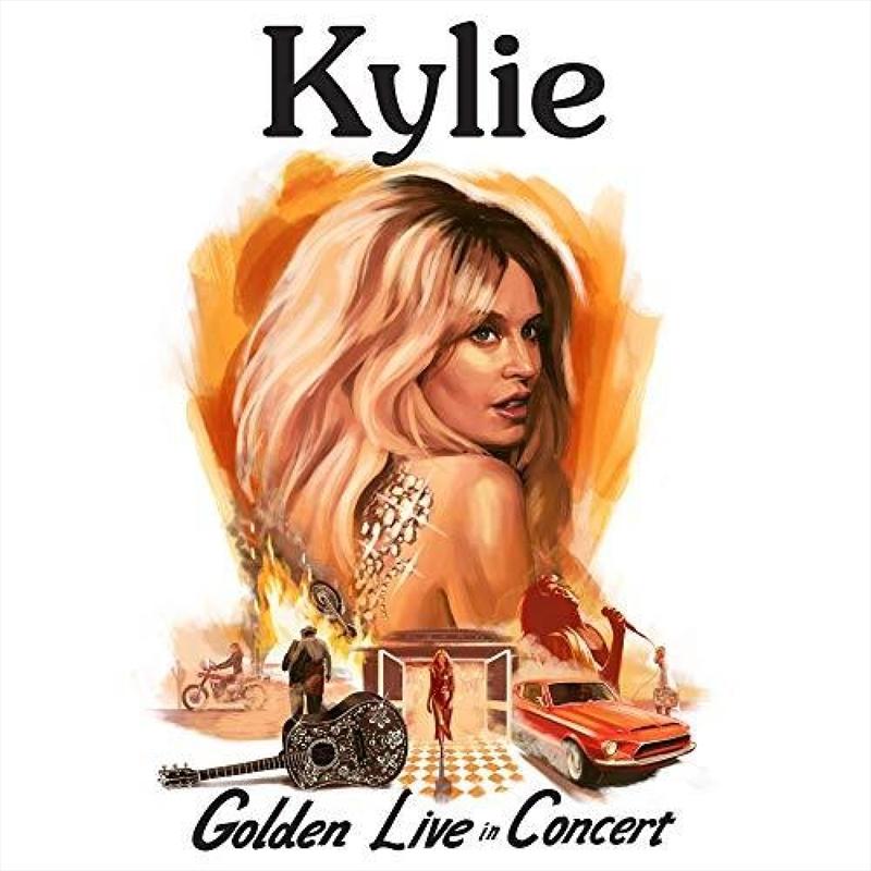Golden - Live In Concert | CD/DVD