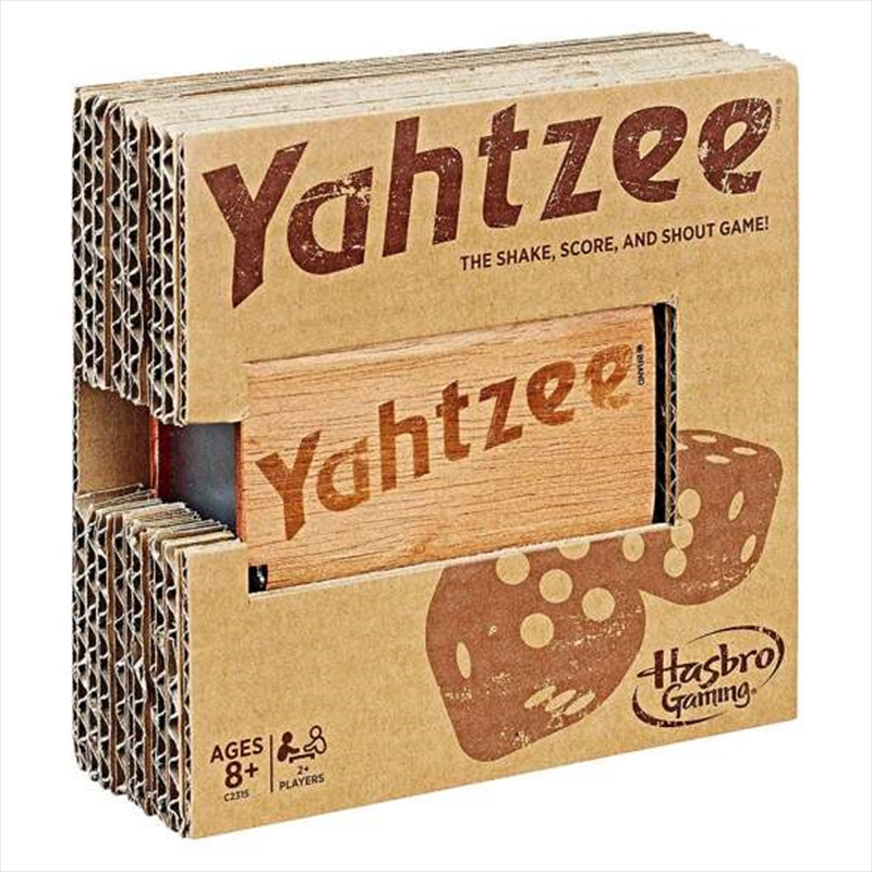 Yahtzee Rustic Series Dice Game | Merchandise