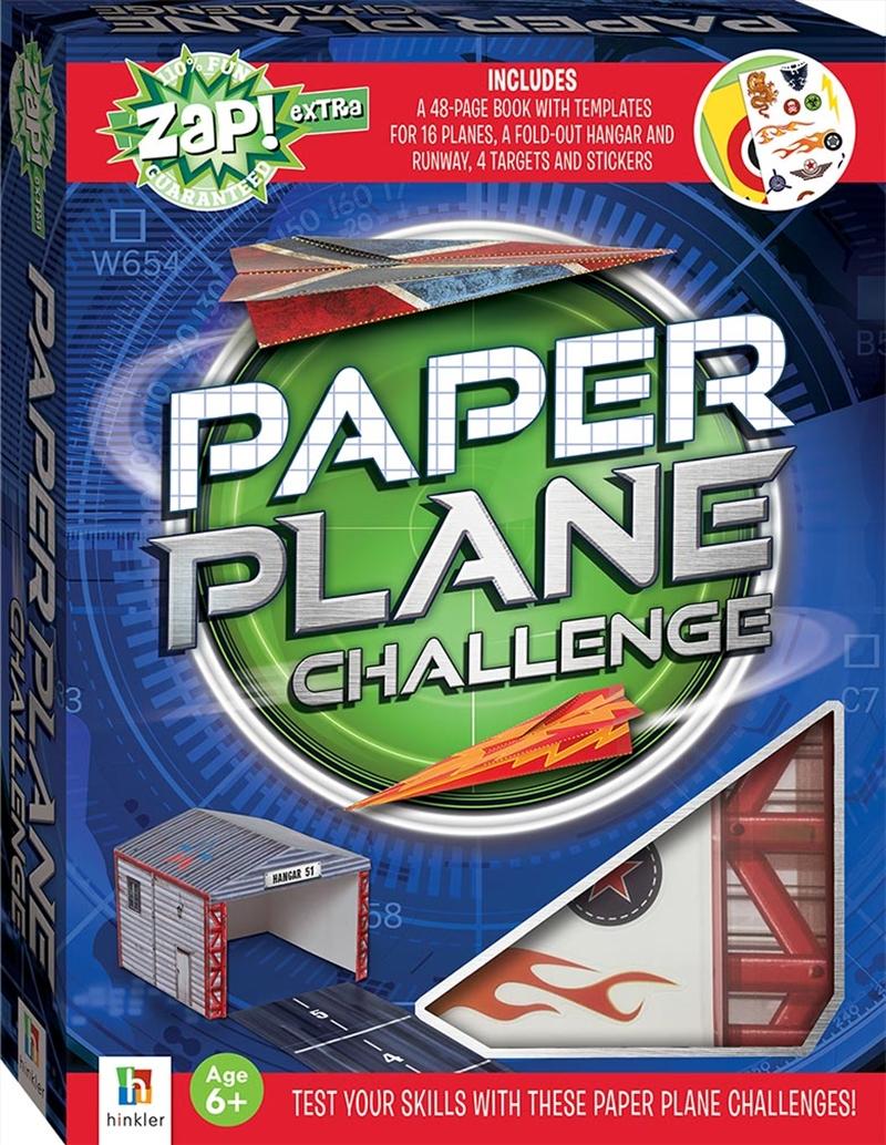 Zap! Extra Complete Paper Plane Challenge | Merchandise