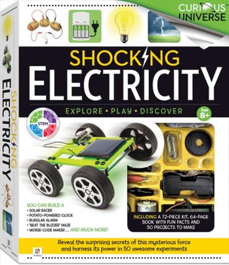 Curious Universe Science: Shocking Electricity Box Set | Merchandise