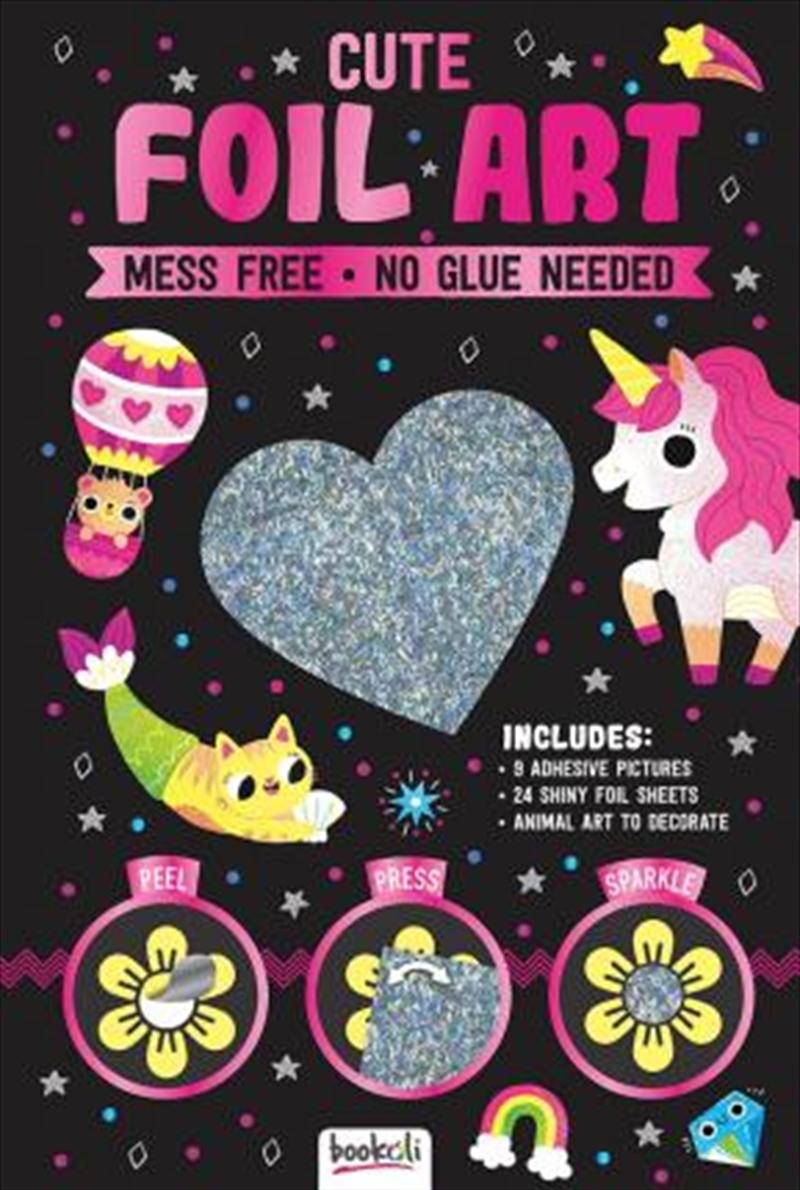 Sparkly Art Cute Foil Art | Merchandise