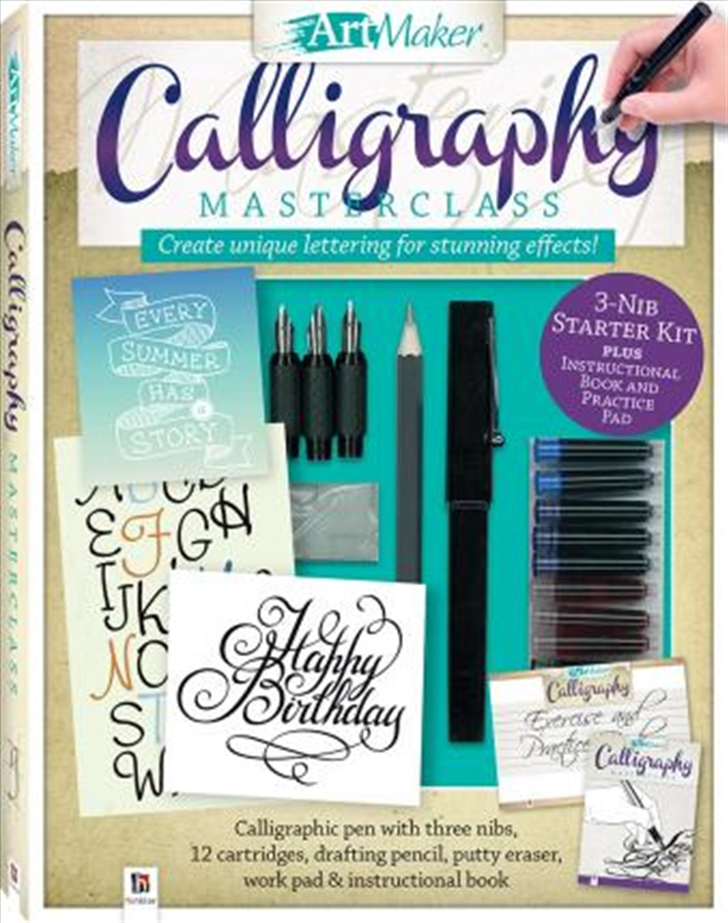 Art Maker Calligraphy Masterclass Kit (portrait) | Merchandise