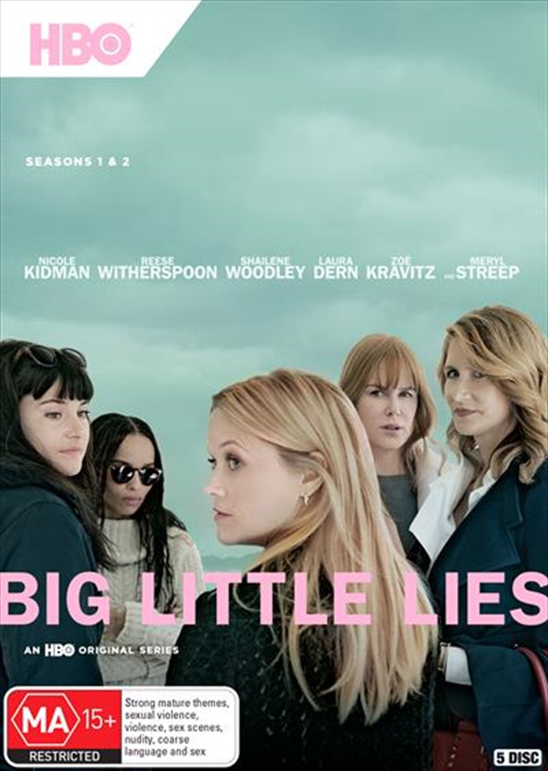 Big Little Lies - Season 1-2 | Boxset | DVD