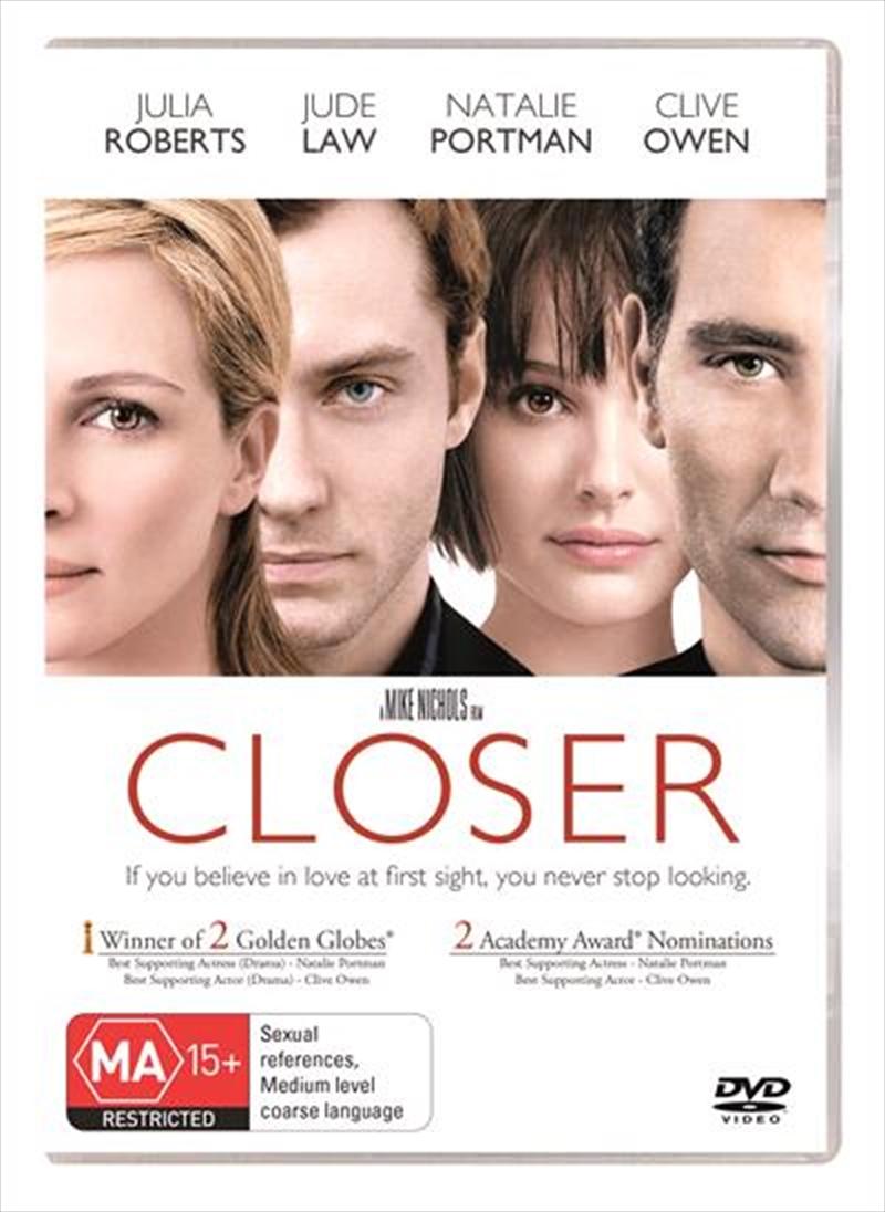 Closer | DVD