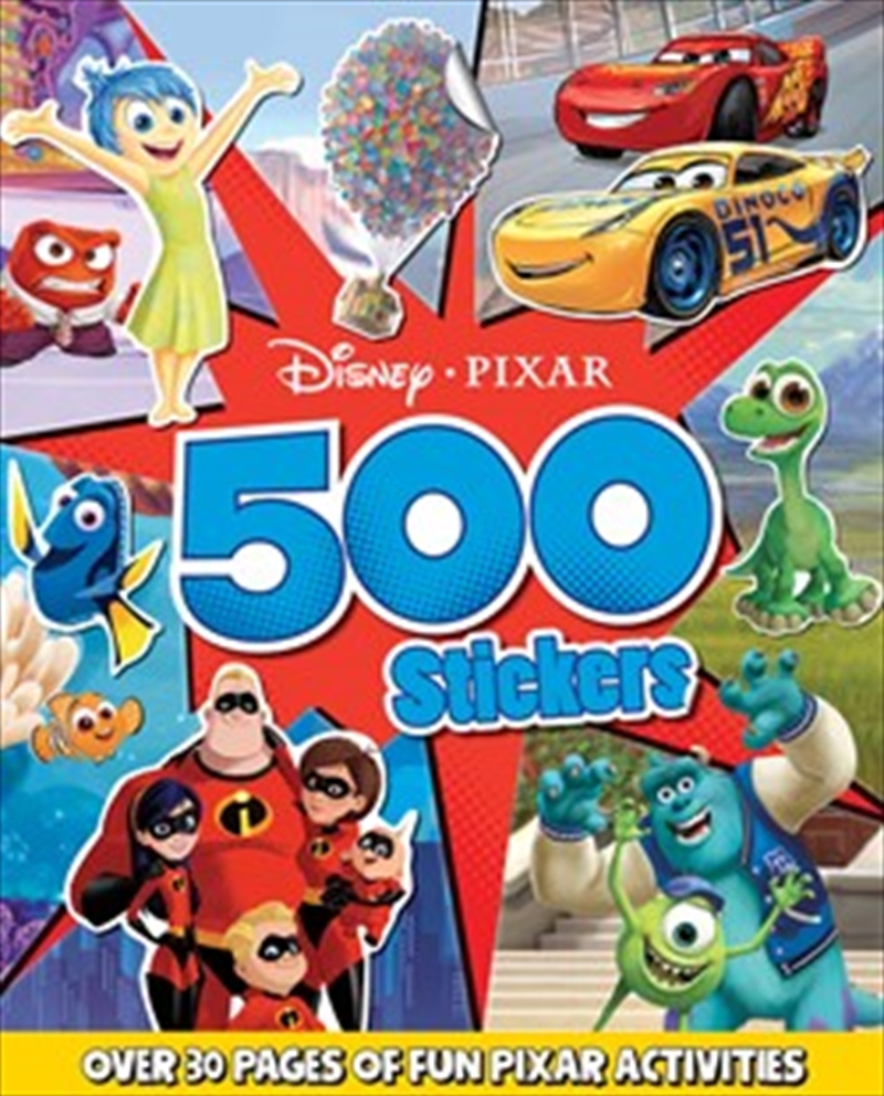 Disney Pixar: 500 Stickers | Paperback Book
