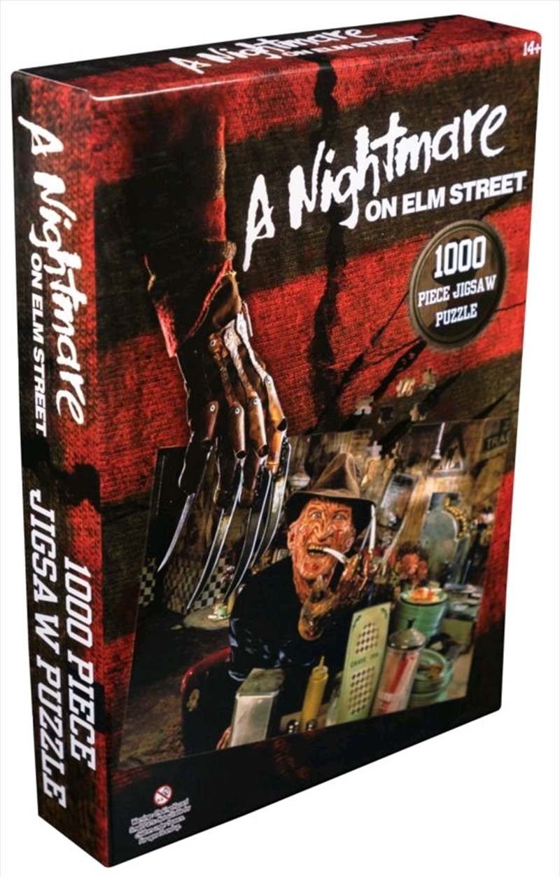 A Nightmare on Elm Street - Freddy Krueger at the Diner 1000 piece Jigsaw Puzzle | Merchandise