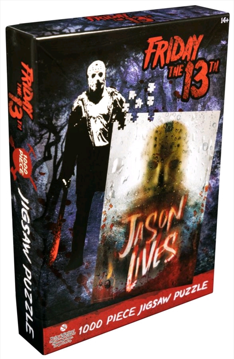 Friday the 13th - Jason Lives 1000 piece Jigsaw Puzzle   Merchandise