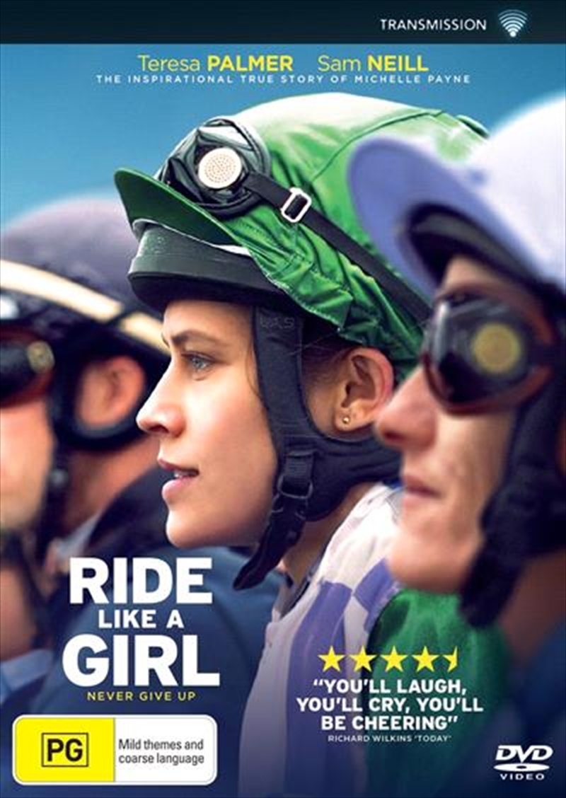 Image result for ride like a girl dvd