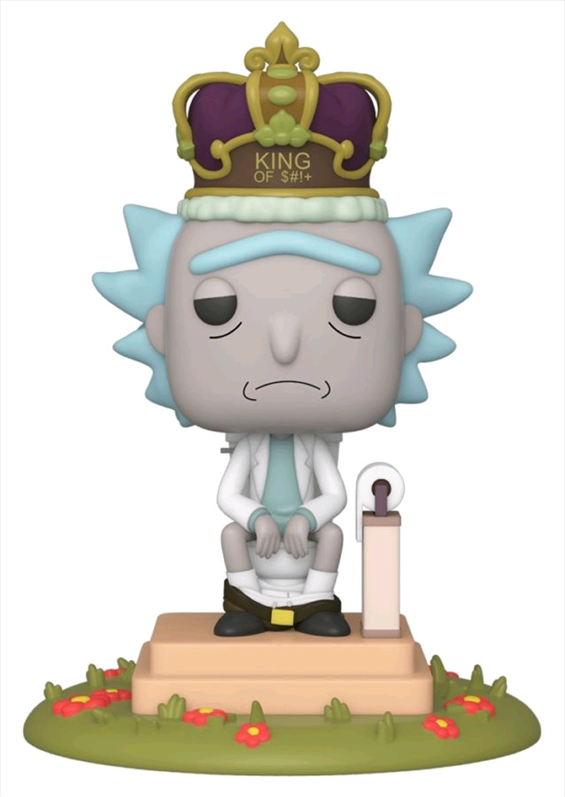 Rick and Morty - King of $#!+ with Sound Pop! Deluxe | Pop Vinyl
