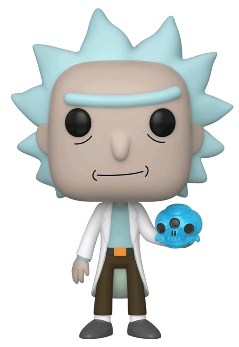 Rick & Morty - Rick with Crystal Skull Pop! Vinyl | Pop Vinyl