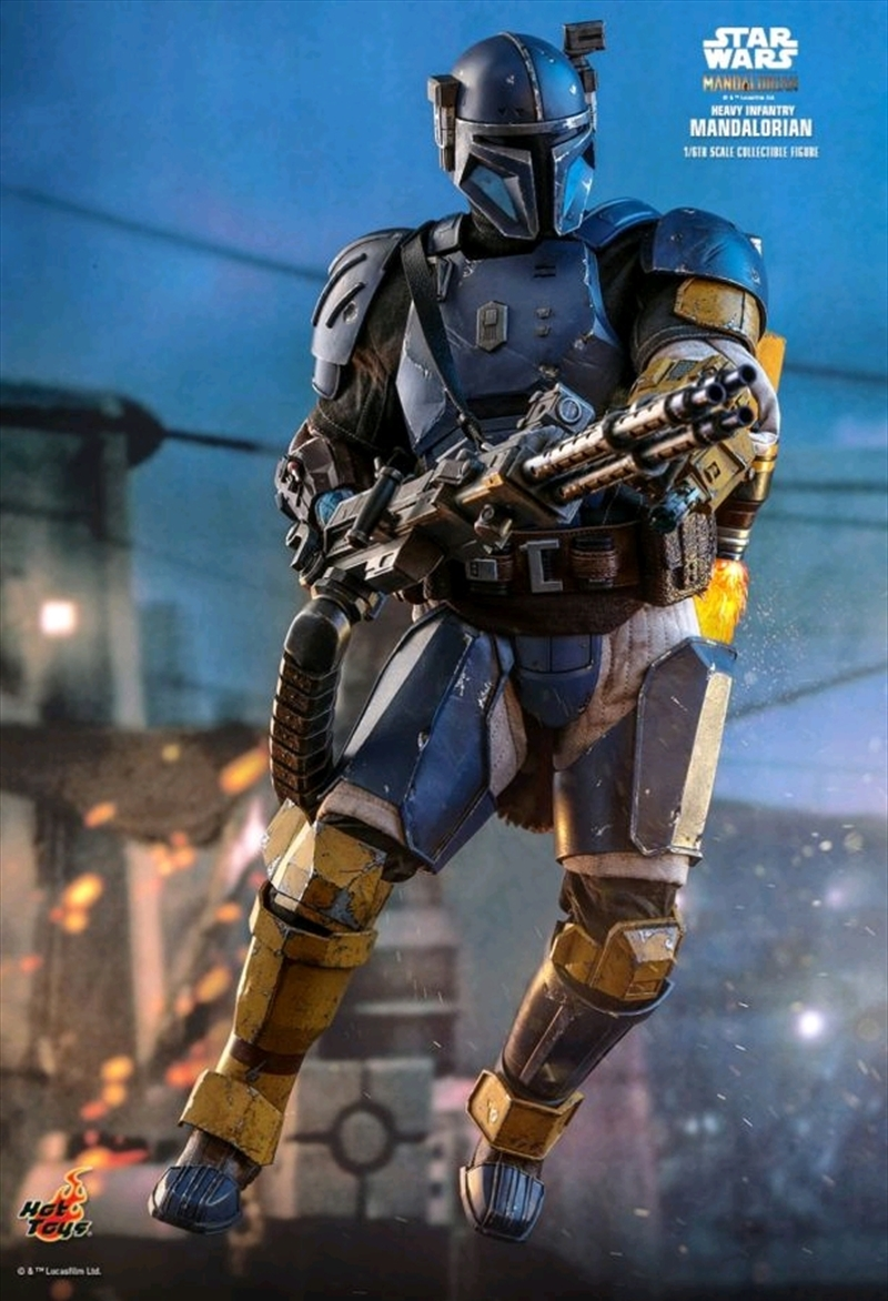"Star Wars: The Mandalorian - Heavy Infantry Mandalorian 1:6 Scale 12"" Action Figure 
