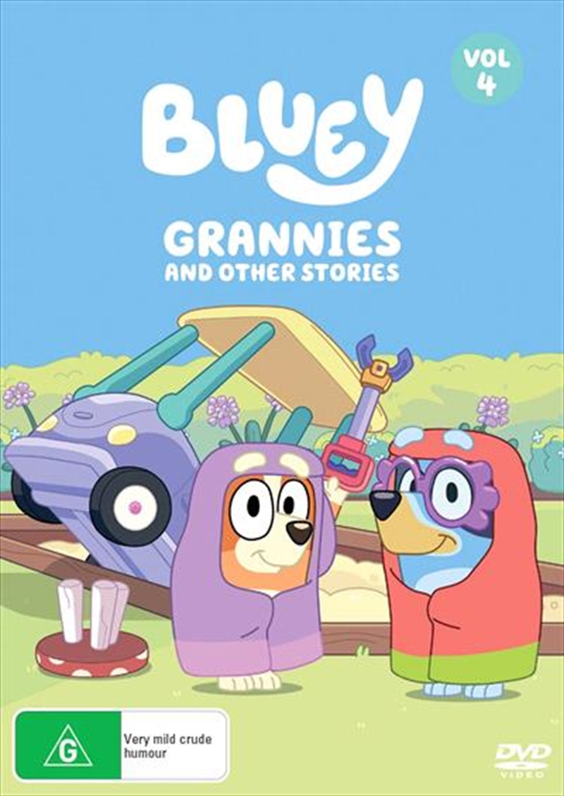 Buy Bluey Grannies And Other Stories Vol 4 On Dvd Sanity
