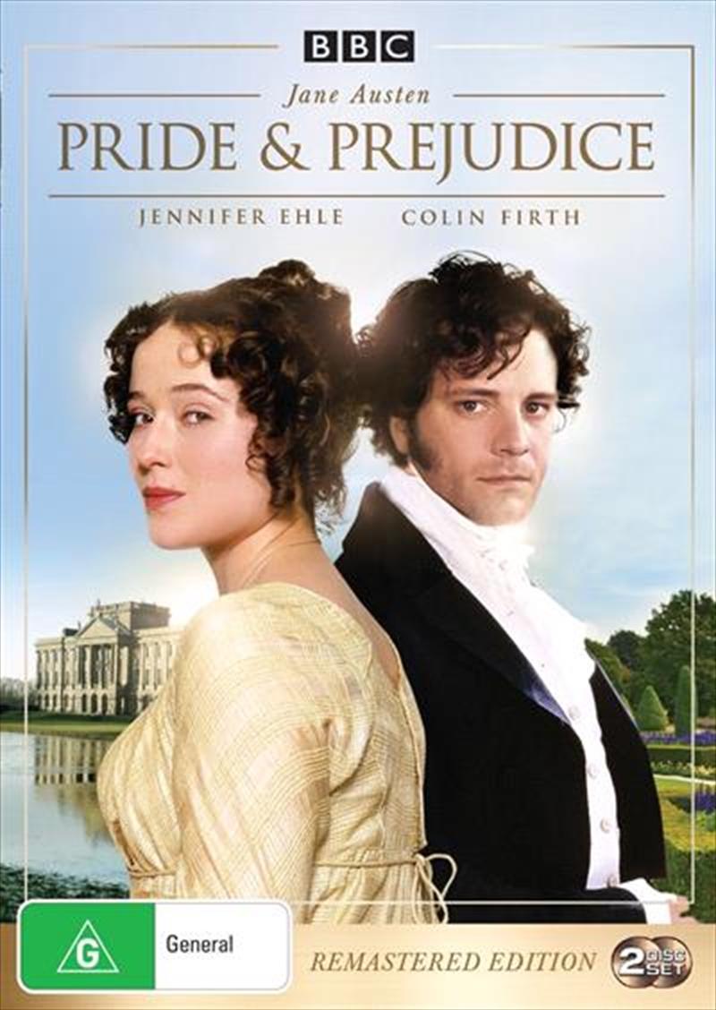 Pride And Prejudice   Remastered   DVD