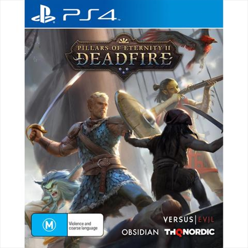 Pillars Of Eternity 2 Deadfire | PlayStation 4