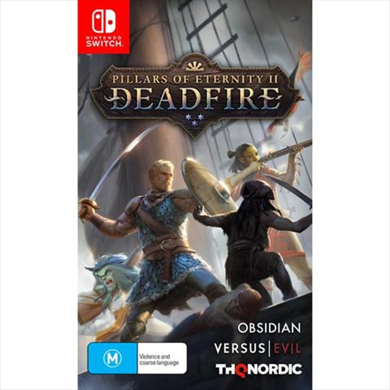 Pillars Of Eternity 2 Deadfire | Nintendo Switch