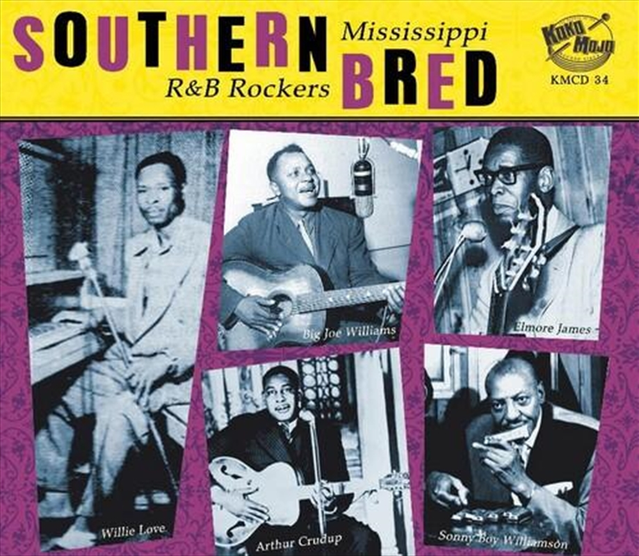 Southern Bred - Mississippi R&B Rockers 1 | CD