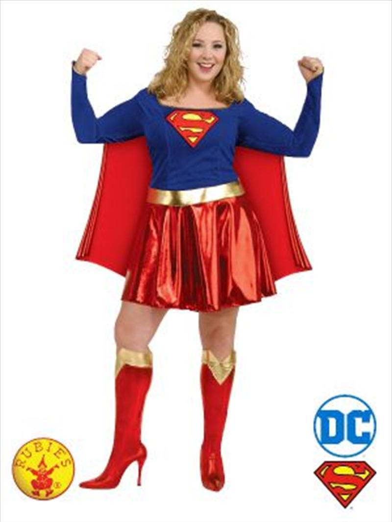 Supergirl Costume: Plus Size   Apparel
