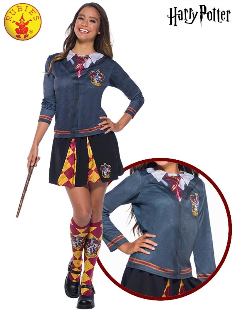 Gryffindor Costume Top: Large | Apparel