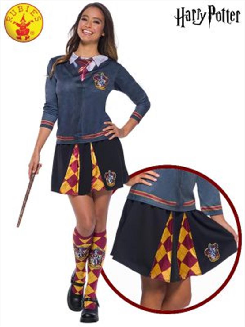 Gryffindor Adult Skirt: Size 10-12 | Apparel