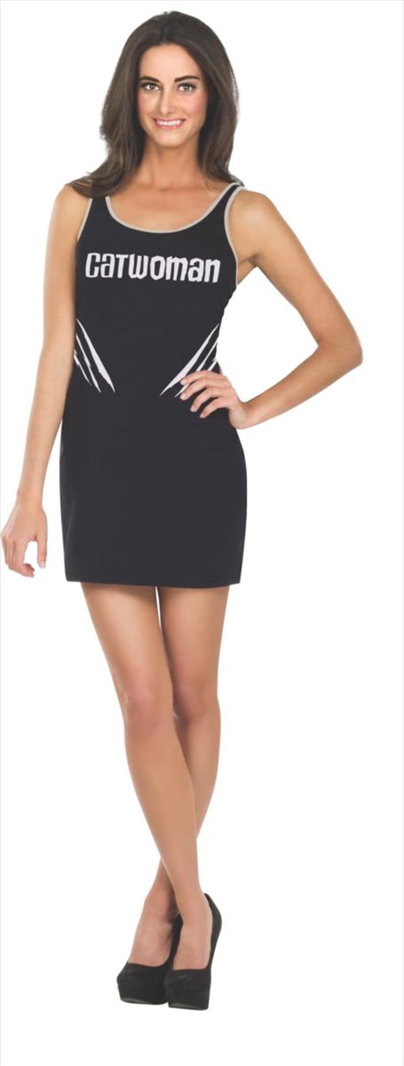 Catwoman Tank Dress: Size Medium   Apparel