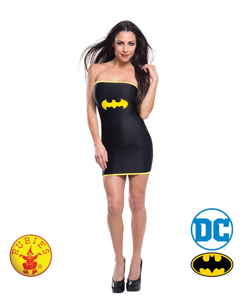 Batgirl Tube Dress: Size Large | Apparel