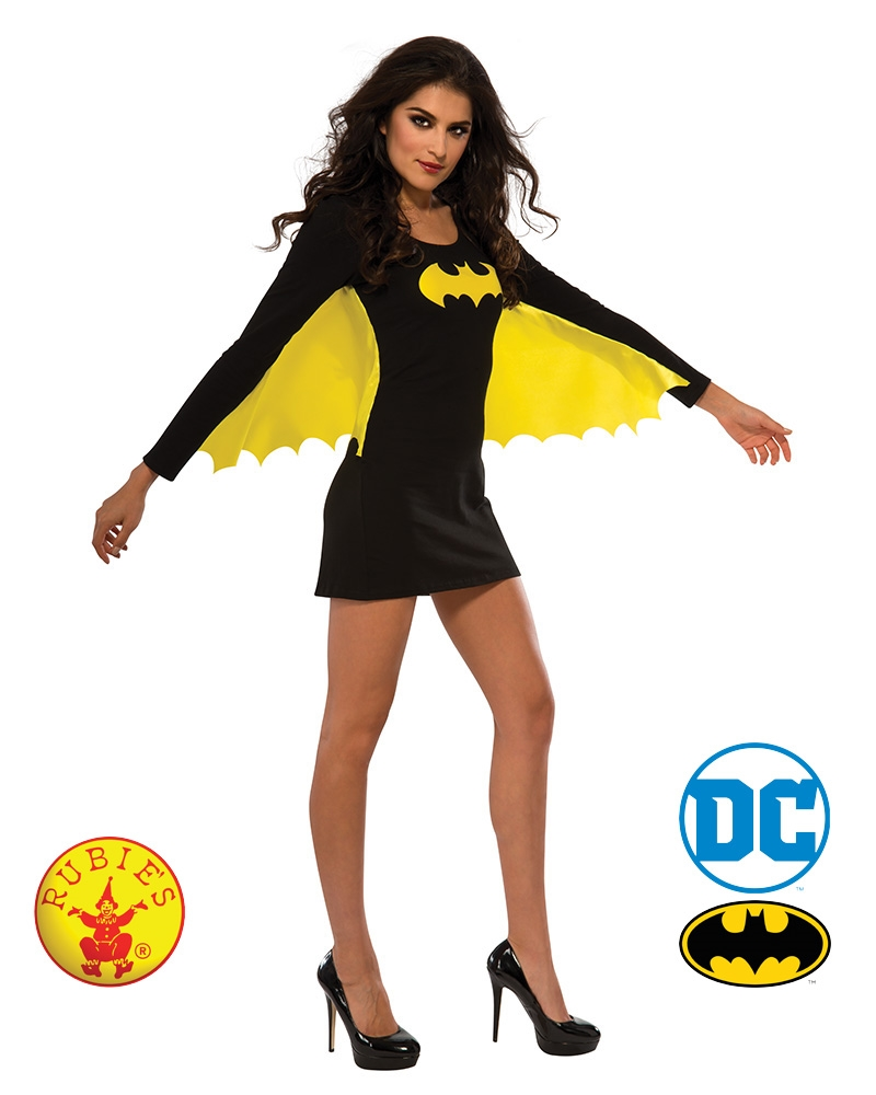 Batgirl Dress With Wings: Large | Apparel