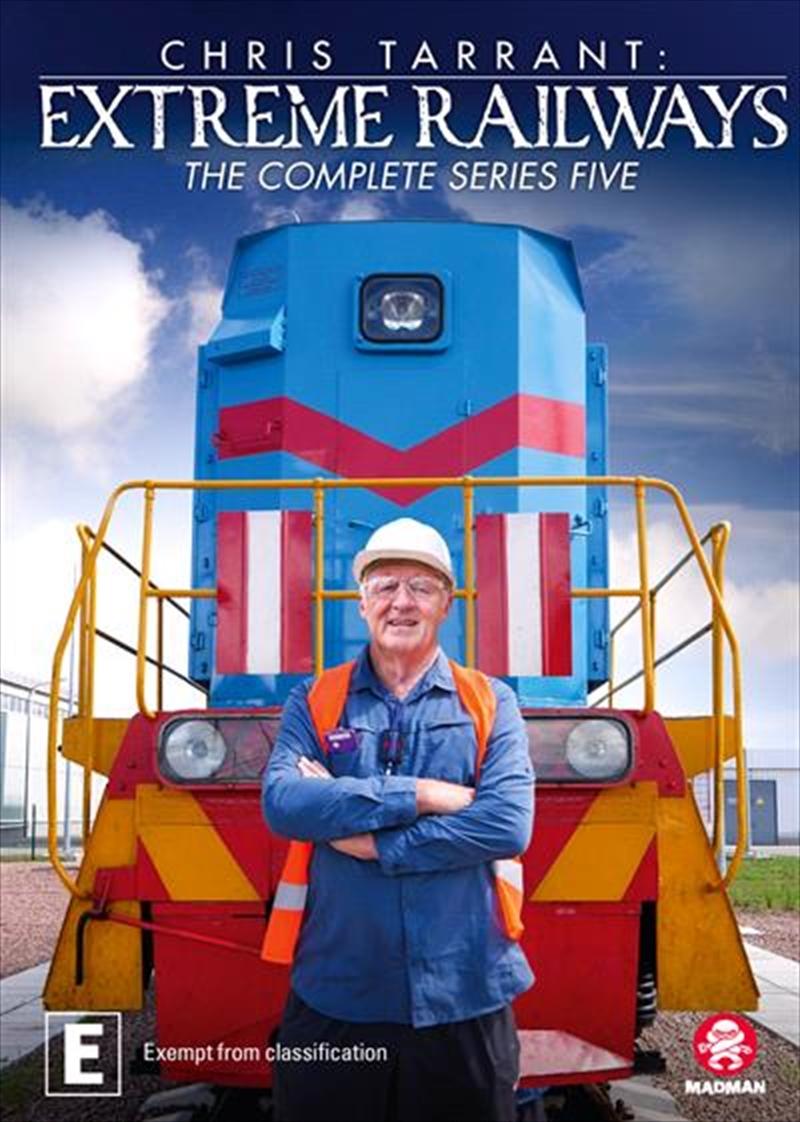Chris Tarrant's Extreme Railways - Series 5 | DVD