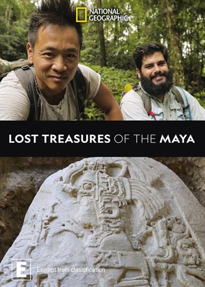 National Geographic - Lost Treasures Of The Maya | DVD