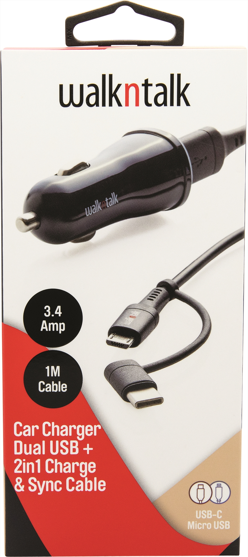 Car Charger 2in1 | Accessories