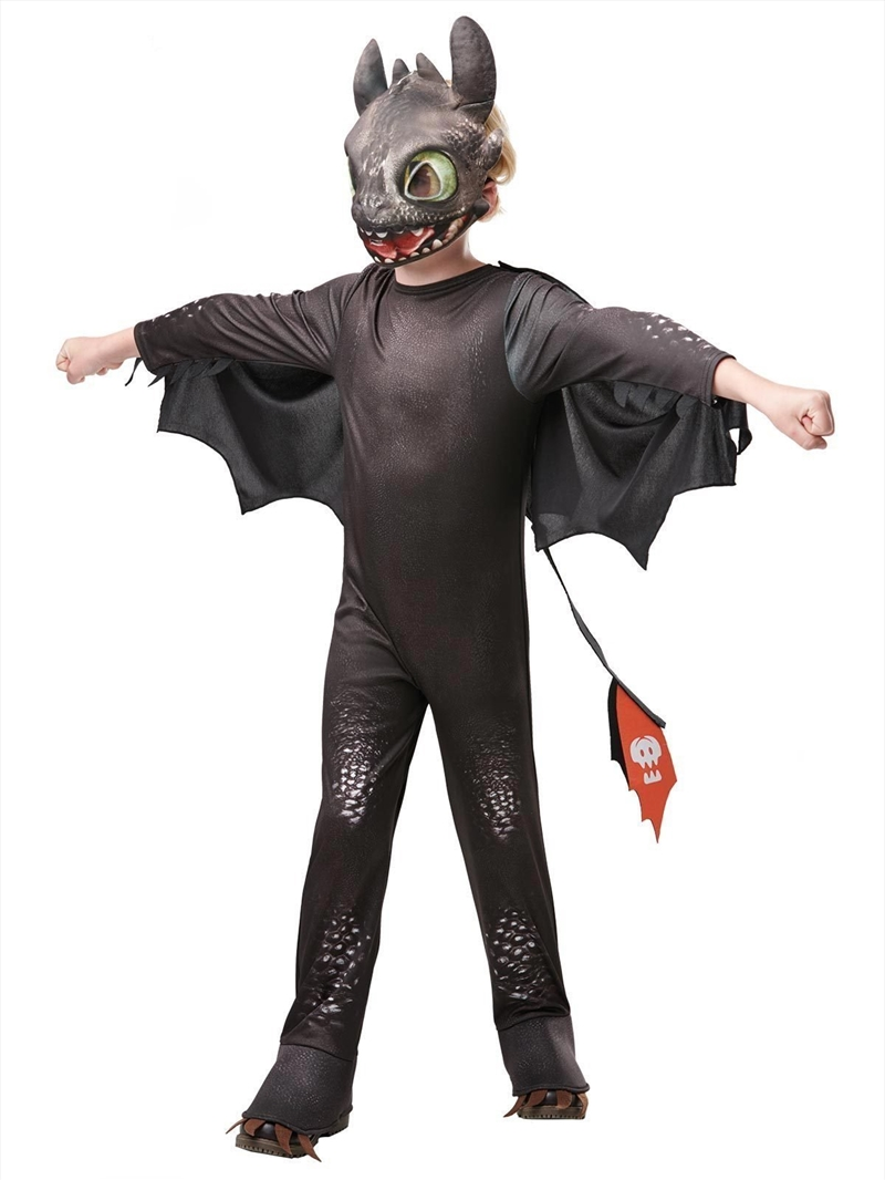 Toothless Night Fury Deluxe Costume - 5-6yr | Apparel