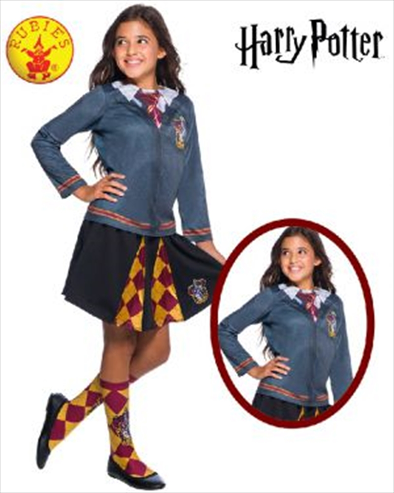 Gryffindor Costume Top: 5-7yrs | Apparel