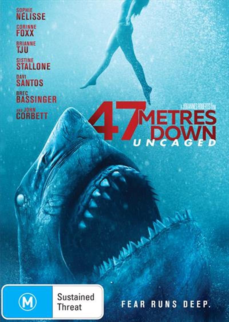 47 Metres Down - Uncaged (Meters) | DVD