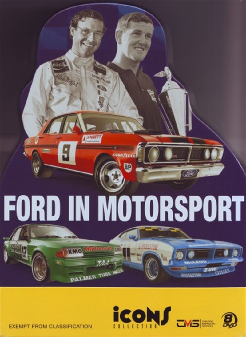 Ford In Racing Motorsport - Icons | DVD