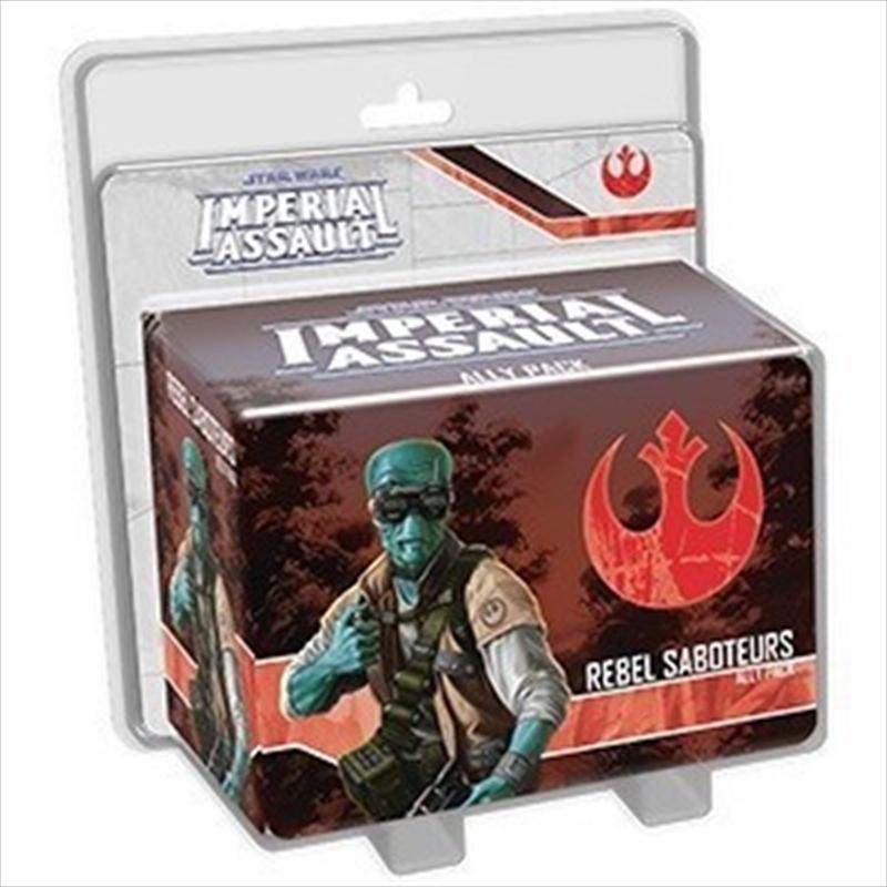 Star Wars Imperial Assault: Rebel Saboteurs Ally Pack | Merchandise