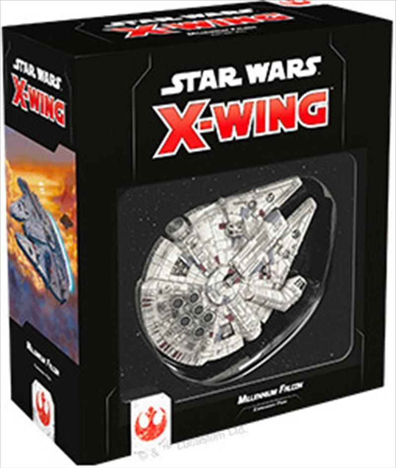 Star Wars X-Wing 2nd Edition Millennium Falcon   Merchandise