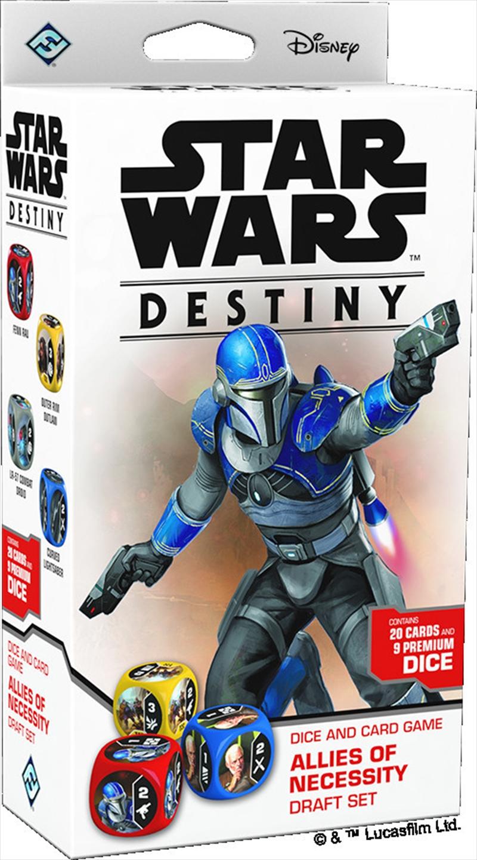 Star Wars Destiny TCDG Allies of Necessity Draft Set | Merchandise