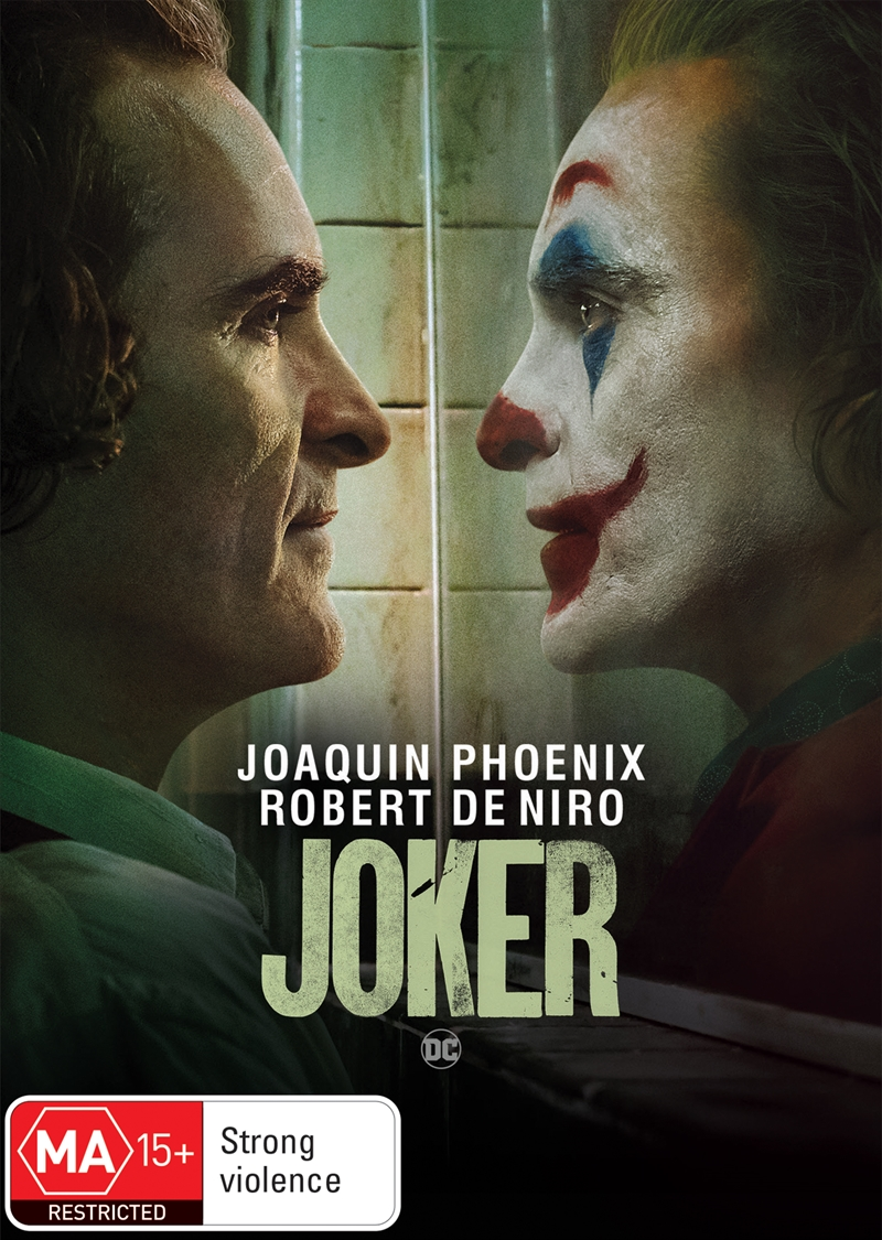 Joker  (SANITY EXCLUSIVE COVER) | DVD
