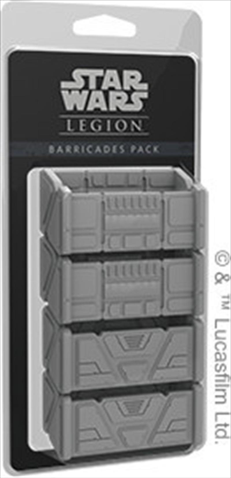 Star Wars Legion Barricades Pack   Merchandise