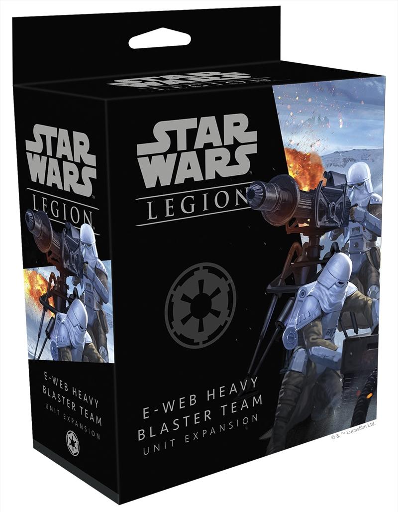 Star Wars Legion E-Web Heavy Blaster Team Unit Expansion   Merchandise