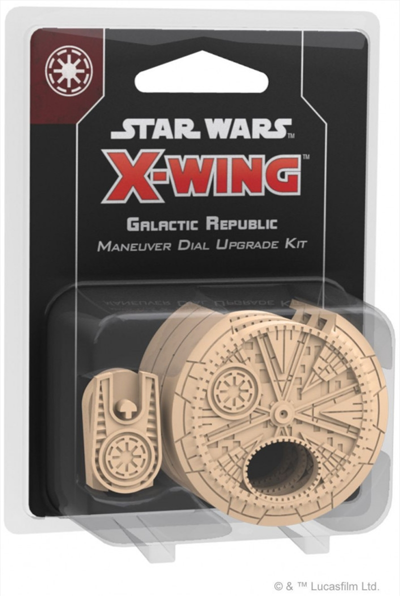 Star Wars X-Wing 2nd Edition Galactic Republic Maneuver Dial Upgrade Kit | Merchandise