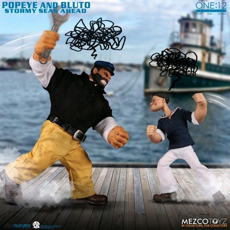 Popeye - Popeye & Bluto Stormy Seas Ahead One:12 Collective Set   Merchandise