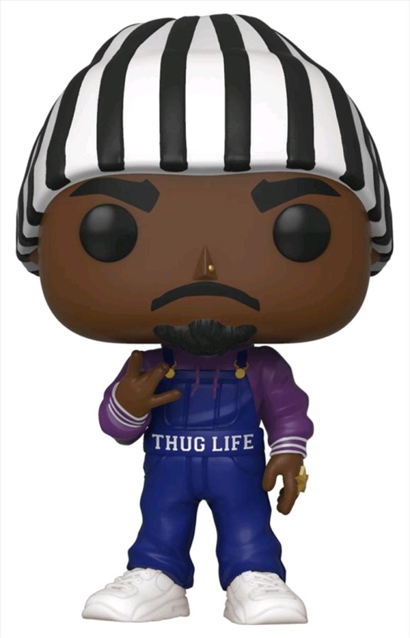 Tupac - Tupac Overalls US Exclusive Pop! Vinyl [RS] | Pop Vinyl
