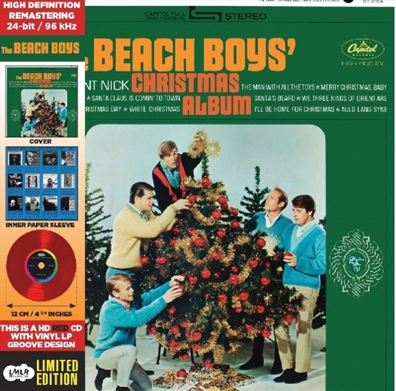 Beach Boys Christmas Album | CD