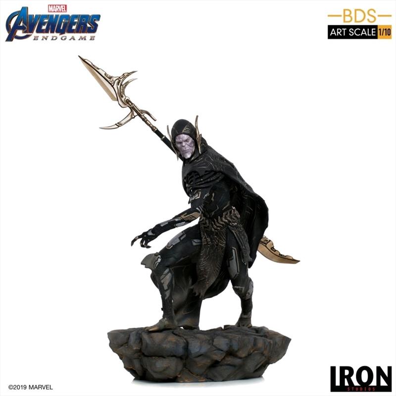 Avengers 4: Endgame - Corvus Glaive 1:10 Scale Statue   Merchandise