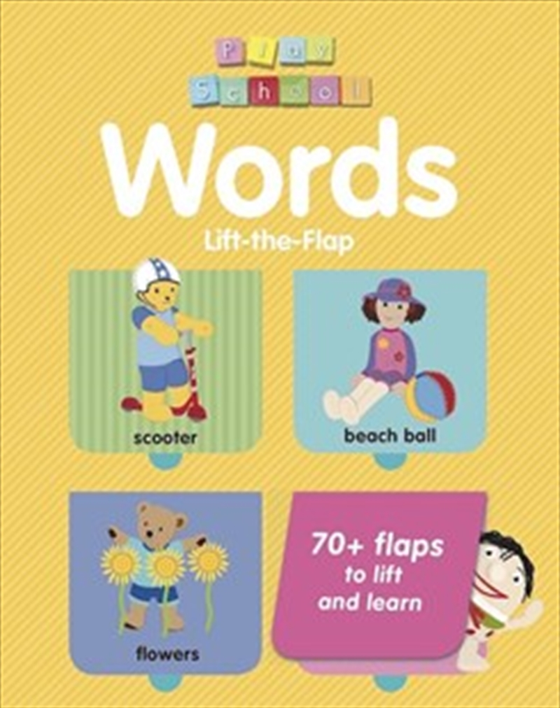 Abc Kids: Play School Words - Lift The flap   Board Book