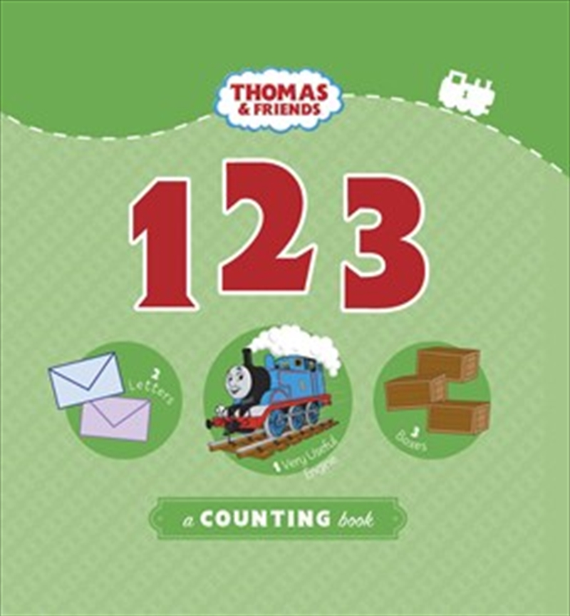 Thomas And Friends: 123 A Counting Book | Board Book