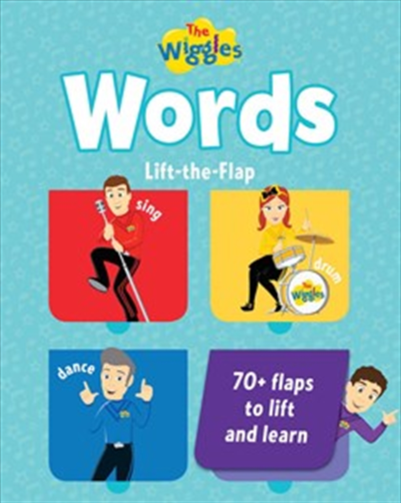 Wiggles: Words Lift The Flap Book | Board Book