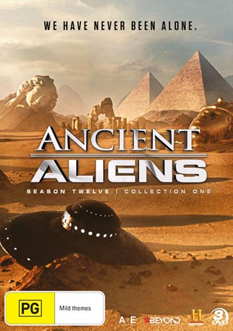 Ancient Aliens - Season 12 - Collection 1 | DVD